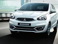 Bán xe Mitsubishi Mirage sản xuất 2016, màu trắng, xe nhập