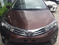 Bán xe Toyota Corolla Altis 1.8 CVT 2016, màu nâu, mới 100%. Hỗ trợ trả góp, lãi suất thấp - LH: 0906.02.6633 Mr. Long