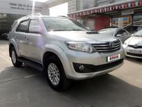 Cần bán Toyota Fortuner G đời 2013, màu bạc, số sàn