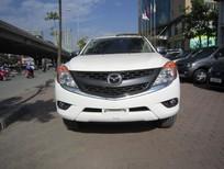Cần bán Mazda BT 50 2015, màu trắng, nhập khẩu