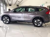 Bán xe Honda CR V đời 2016, màu bạc