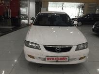 Cần bán gấp Mazda 626 đời 2002, màu trắng, số sàn, giá 245tr