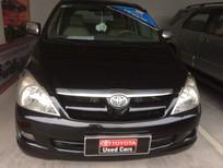 Cần bán xe Toyota Innova 2.0g 2006, màu đen, giá chỉ 450 triệu