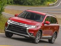 Bán xe Mitsubishi Outlander màu đỏ, nhập khẩu giá tốt tại Quảng Trị, Giá xe Outlander nhập Nhật tốt nhất