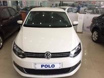Bán Volkswagen Polo Sedan AT 2015, màu trắng, nhập khẩu chính hãng giá cạnh tranh