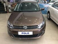 Bán ô tô Volkswagen Polo Sedan AT 2015, màu nâu, nhập khẩu nguyên chiếc