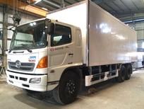 Tổng đại lý Hino, Bán xe tải thùng đông lạnh Hino FL -Thùng thiết kế theo yêu cầu