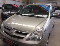 Bán Toyota Innova 2.0G 2007, màu bạc, giá 510tr