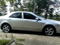 Cần bán lại xe Mazda 6 đời 2003, màu bạc, giá 288tr
