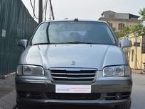 Cần bán Hyundai Trajet đời 2006, màu bạc