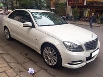 Bán ô tô Mercedes C250 BE 2011, màu trắng, 860 triệu