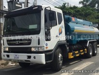 Bán xe Daewoo P9CVF chứa 25.000 lít chở xăng dầu, giá rẻ cạnh tranh