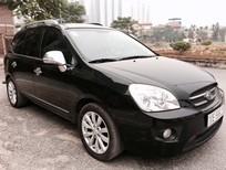 Cần bán Kia Carens đời 2011, màu đen, số tự động, 445tr
