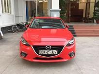 Cần bán xe Mazda 3 All new 2.0 AT màu đỏ tươi,biển Hà Nội,đăng ký 2015.