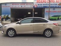 Cần bán xe Toyota Vios G 2014, màu vàng cát, giá cạnh tranh