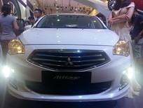 Bán xe Mitsubishi Attrage 2016, màu trắng, nhập khẩu chính hãng, 508 triệu