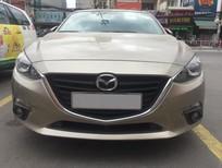 Mazda 3 2016 màu vàng cát, biển SG
