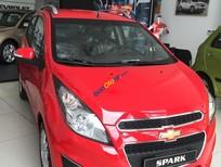 Chevrolet Spark LT đỏ, bảo hành chính hãng, an toàn vượt trội, liên hệ Nhung 0975.768.960