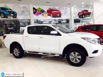 Mazda Biên Hòa bán xe Mazda BT 50 2016, màu trắng giá hấp dẫn, khuyến mãi lớn