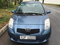 Xe Toyota Yaris 1.3G 2007, màu xanh, số tự động, nhập khẩu Nhật Bản