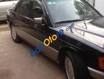 Cần bán Mercedes 190 đời 1990, màu đen, xe nhập chính chủ