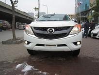 Cần bán Mazda BT 50 2015, màu trắng, nhập khẩu nguyên chiếc, giá 595tr