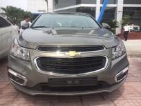 Bán xe Chevrolet Cruze LT 2017, màu xám, KM 40tr, hỗ trợ vay nhanh chóng