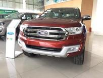 Cần bán xe Ford Everest Titanium 2017, màu đỏ, xe nhập