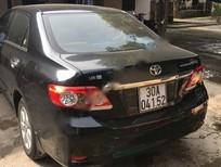 Cần bán Toyota Corolla altis 1.8MT sản xuất 2013, màu đen