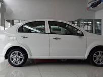 Chevrolet Aveo MT 05 chỗ, với động cơ 1.4L cam kép DOHC 16 van, EURO4 tiết kiệm nhiên liệu