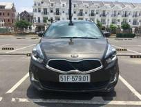 Bán xe cũ Kia Rondo AT đời 2015, màu đen, giá tốt