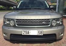 Bán Land Rover Lange Rover Sport Superchange 5.0 model 2010 màu ghi vàng, xe cực đẹp nguyên bản