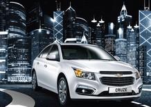 Chevrolet Cruze LTZ đời 2017, màu trắng, giá xe tốt nhất khu vực phía Nam,