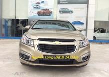 Bán ô tô Chevrolet Cruze 1.6 LT đời 2015, màu vàng, giá chỉ 572 triệu