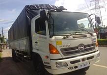 Bán xe tải HINO 3 chân thùng dài 9.3m giá tốt nhất,xe tải Hino 15 tấn thùng mui bạt mui kín