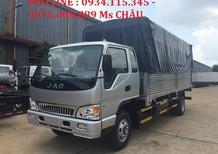 Bán xe tải JAC 6.4T- 6.4 tấn - 6 tấn 4- 6T4 trả góp lãi suất ưu đãi nhất.