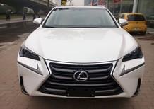 Bán Lexus NX300H Hybrid sx 2015 màu trắng, nội thất kem option full, xe nhập khẩu Mỹ nguyên chiếc