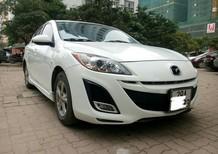 Cần bán lại xe Mazda 3 1.6AT năm 2009, màu trắng, nhập khẩu chính hãng