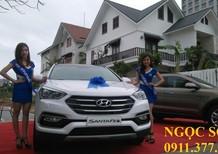 Cần bán xe Hyundai Santa Fe mới đời 2016, màu trắng, LH: Ngọc Sơn: 0911.377.773