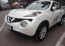 Bán xe Nissan Juke CVT 1.6AT 2016, màu trắng, nhập khẩu tại Anh