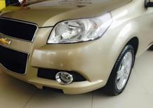 Bán xe Chevrolet Aveo LT 2016, màu vàng cát giá cực tốt