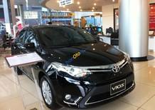 Bán xe Toyota Vios G CVT 2017, màu đen giao xe ngay