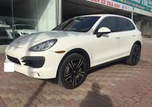 Bán Porsche Cayenne S Model 2011 Full Option, màu trắng, nội thất da bò, xe cực chất