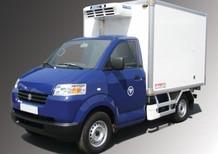 Bán xe tải suzuki 750kg thùng đông lạnh giá tốt- bán xe trả góp