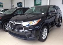 Bán ô tô Toyota Highlander LE 2.7 sản xuất 2016, màu đen, xe nhập Mỹ bảo hành 3 năm