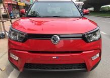 Bán xe Ssangyong Tivoli 2016 năm 2016, màu đỏ, nhập khẩu chính hãng giá cạnh tranh