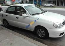 Bán xe cũ Daewoo Lanos đời 2000, màu trắng xe gia đình, giá tốt