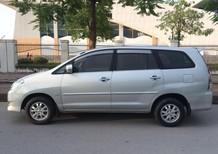 Cần bán xe Innova 2.0G đời 2008 màu bạc, chính chủ Hà Nội