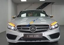 Bán Mercedes C300 năm 2016, màu bạc, nhập khẩu chính hãng