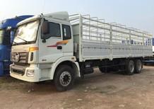 Bán xe tải Thaco Auman 3 Chân Cầu Nhấc, Cầu Lôi, Cầu Balance, Cầu Thật Trường Hải tải trọng 14 Tấn